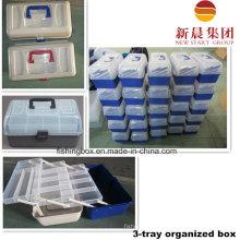 Three Tray Organized Fishing Tackle Box