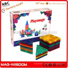 Playmags New Magnetic Educational Block Tiles 20pcs Set