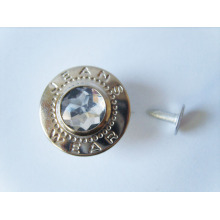 High quality custome logo metal rivet buttons