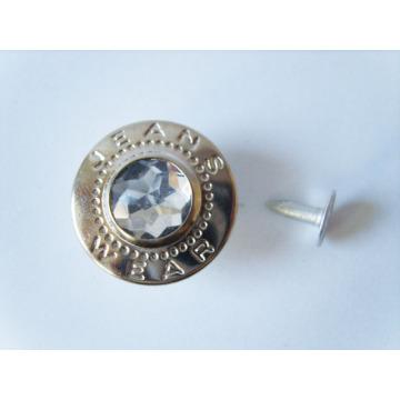 Botones de alta calidad custome logo remache del metal