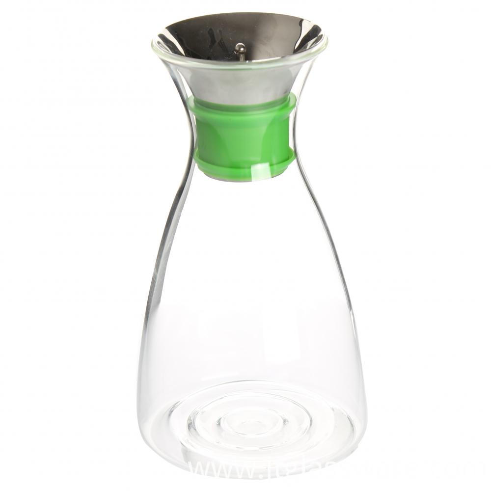 Clear Glass Water Filter Pitcher