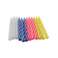 Factory 70 pieces per pack Cake Spiral Candle