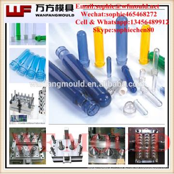 Différentes tailles de moules de préformes pour animaux de compagnie en plastique / moules de préformes PET pour le cou de 63mm à 120mm
