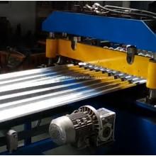 Rollformers de toiture en acier à panneau ondulé à grande vitesse