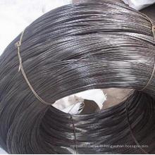 Fil de fer de qualité douce fil recuit noir
