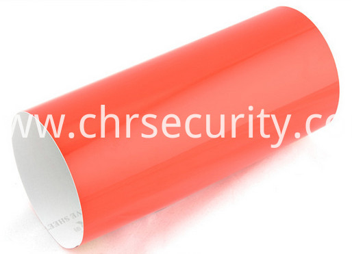 7803 red pvc engineering grade reflective sheeting