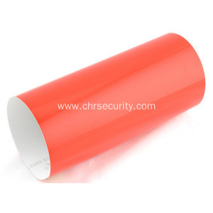 Red pvc engineering grade reflective sheeting