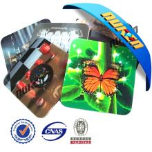 Práctico de costa lenticular plástico 3D de la promoción