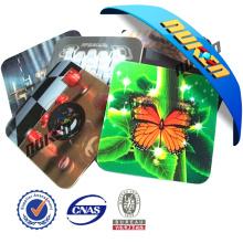 Promotion Plastic 3D Lenticular Coaster
