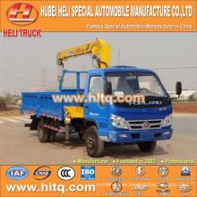 FOTON 4x4 2 Tonnen voller Antrieb 110hp Kranwagen zum Verkauf