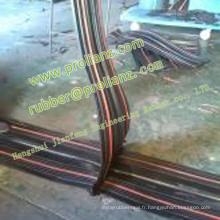 Joint d'étanchéité en caoutchouc hydrophobe pour joint de construction en béton