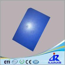 Хорошая цена пластиковый лист синий PE