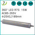 5000k 189mm r7s led 15w J189 RX7S UL list