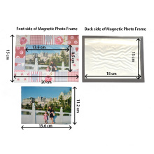 Magnetic Paper Printing Photo Frame