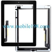 pour iPad 3 Original Touch Screen Digitizer Noir