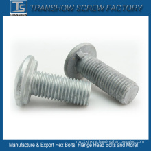 M16X60mm Dacromet Coated Round Head Fence Bolts