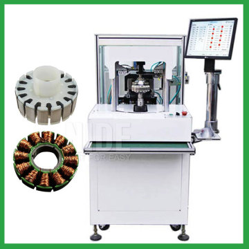 External stator rotor inslot coil winding machine