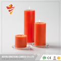 Unscented White Pillar Candle 3Inches