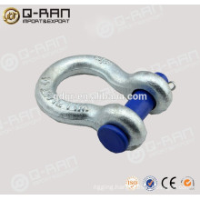Bow Shape Shackle/Rigging Drop Forged Galvanized Bow Shape Shackle