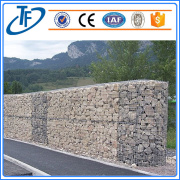Strong and Fine Price Galvanized mesh Gabions /gabion cages