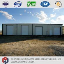 Bâtiment d'entrepôt en acier préfabriqué