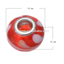 2016 new design beads murano lampwork glass cheap price jewelry