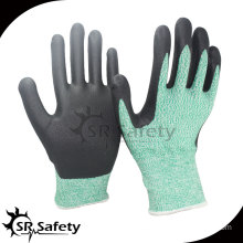 13 gauge Cut level 5 coated water-based PU gloves industry safety gloves