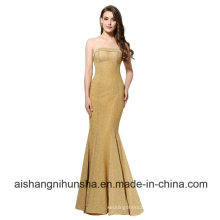 Evening Dress Sexy Mermaid Prom Dress Backless Party Gown