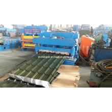 Máquina de produção de perfis de metal