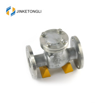 JKTLPC076 adjustable loaded forged steel flanged gate check valve