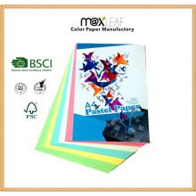 Color Paper Board (150GSM - 5 Pastellfarben gemischt)