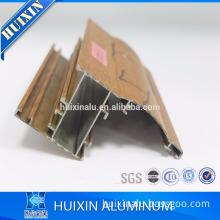 aluminum extrusion furniture profile /aluminium sliding wardrobe doors
