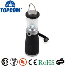 Self-Sufficient 4 LED Crank Rechargeable Led Lantern