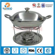 2012 nouveau design fondue en acier inoxydable
