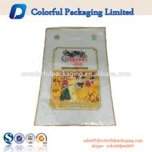 Personalizado imprimió 5 KG bolsas de arroz de plástico para el embalaje