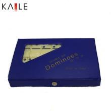 Ensemble Domino en mélamine personnalisé avec boîte en PVC