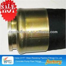 """Cifa 5.5 """"tuyau en tissu de pompe à béton DN100 * 3.5M chinois en acier industriel fil renforcé pompe à béton et fouet de tuyau"""
