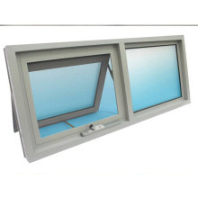pvc top hung window with tempered glass pvc top hung  window with tempered glass