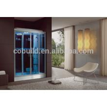 K-706 Estilo de estilo deslizante e sala de vapor tipo indoor stam room sauna e sala combinada de vapor