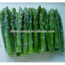 Espargos cor verde