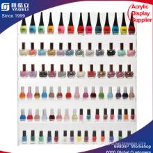 6 Shelf PRO Прозрачный акриловый лак для ногтей Стойка / салон Настенный дисплей организатора