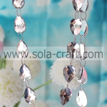 Hot sale Charm Beautiful Mirror Crystal Christmas Beading Garland For Chandelier Prism