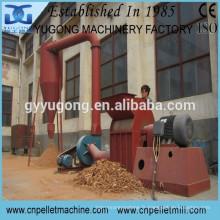 Broyeur à marteaux en bois Yugong série approuvé CE, broyeur à scie à bois