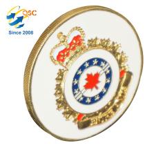 Promoción personalizada regalo 3D personalizable Suzhou alta calidad precio de fábrica moneda de desafío