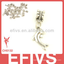 2013 New Fashion dolphin charms 925 silver pendant charms