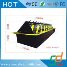 3 meters parking lot system hydraulic road blocker