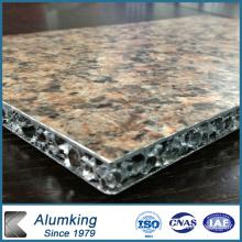 Ultralight Nouveau matériau mousse d'aluminium avec du marbre
