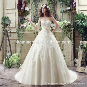 2017 Classic Strapless Taffeta Appliques Sequin Wedding Dress 2017 Classic Strapless Taffeta Appliques Sequin Wedding Dress