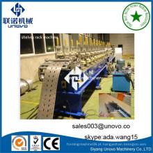 Máquina industrial de laminagem de porta de obturador de metal