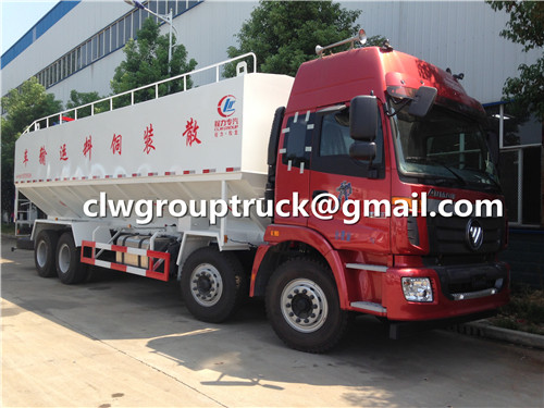 Bulk Feed Truck Front